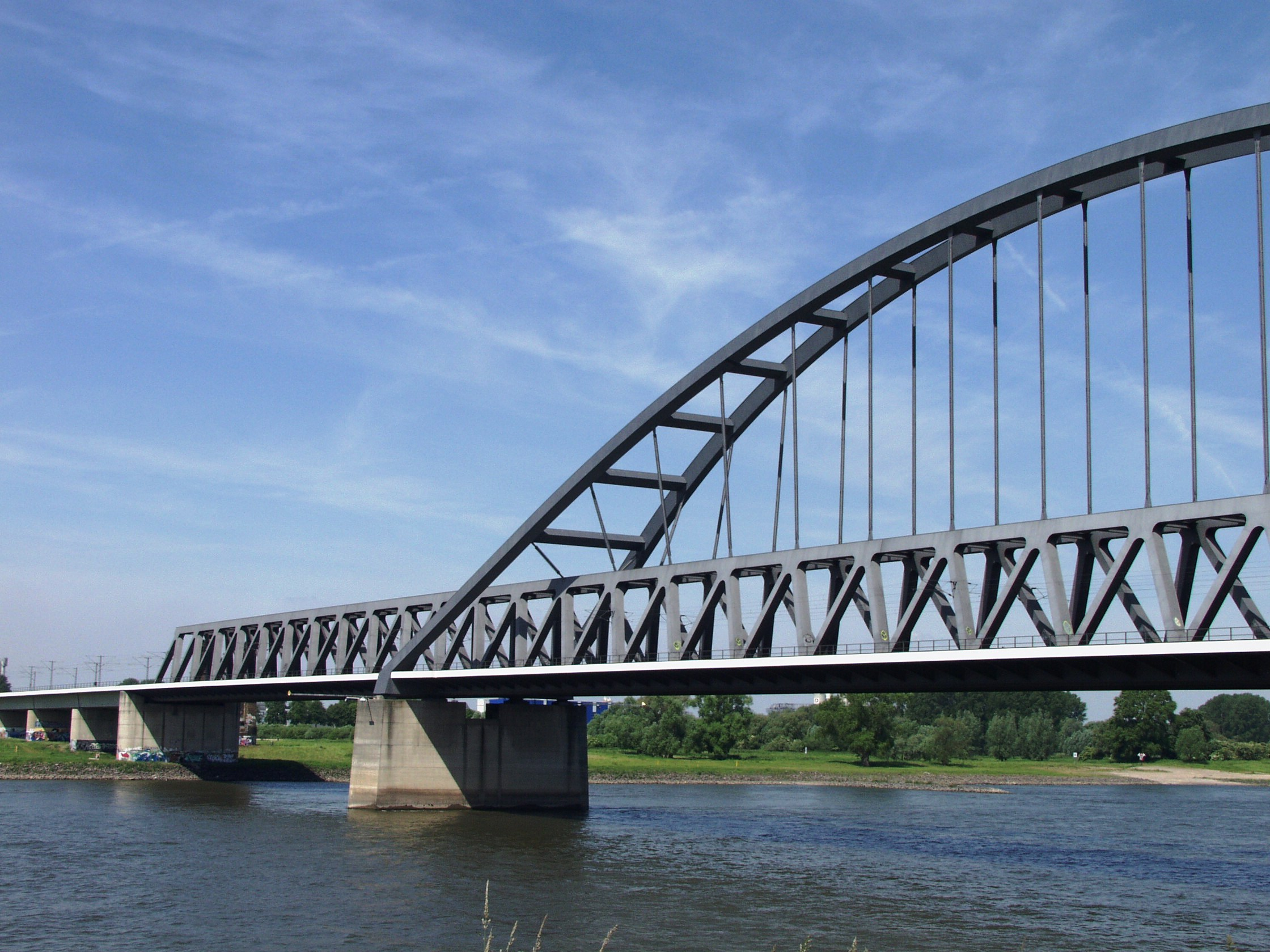 Railway Bridge Duesseldorf